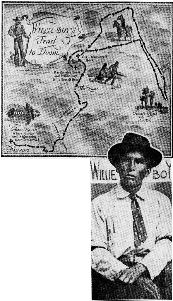 Willie Boy photo and map.