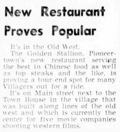 1948 Nov 3 - Desert Sun article clipping.
