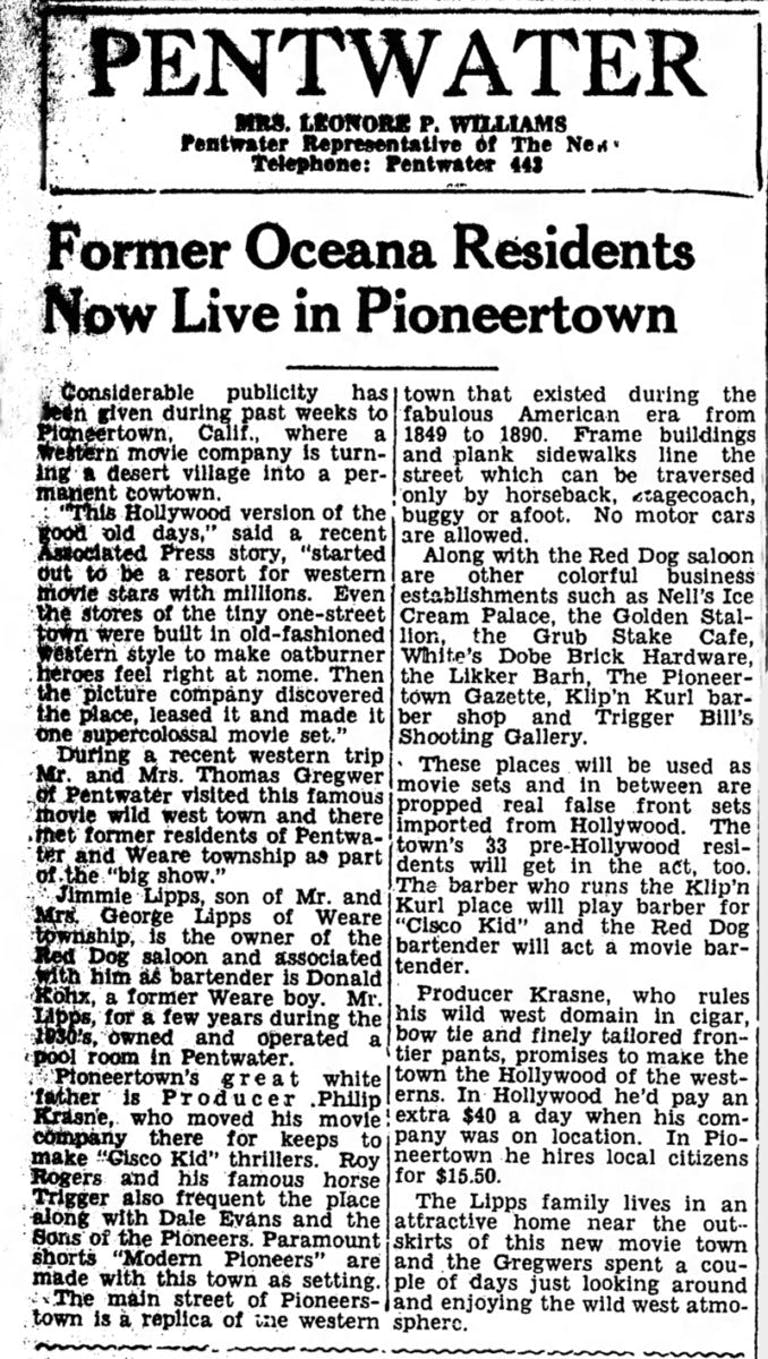 Dec. 18, 1948 - The Ludington Daily New article clipping