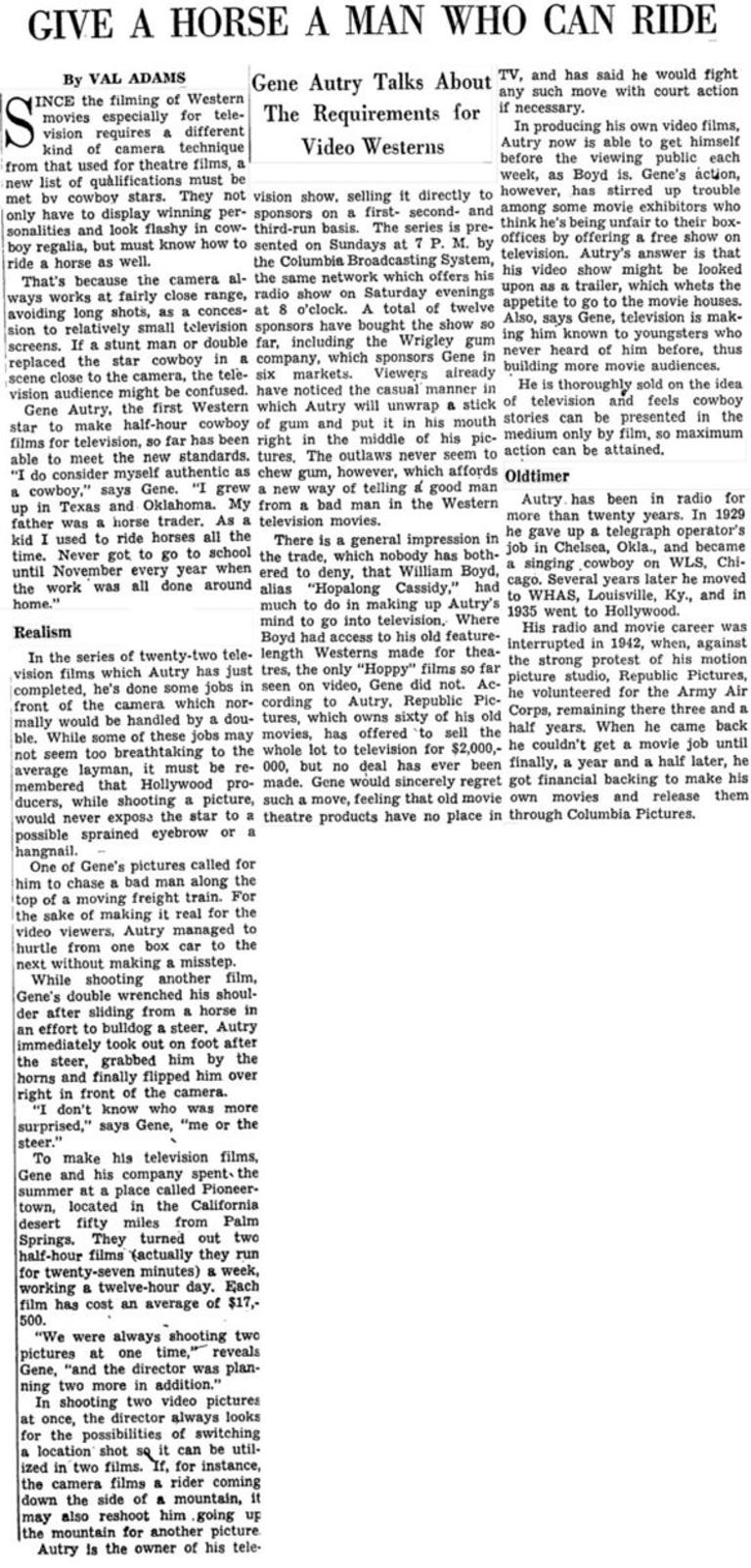 Oct. 8, 1950 - New York Times
