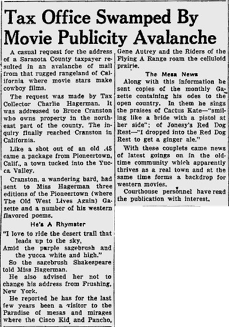 Dec 1, 1950 Sarasota Herald Tribune
