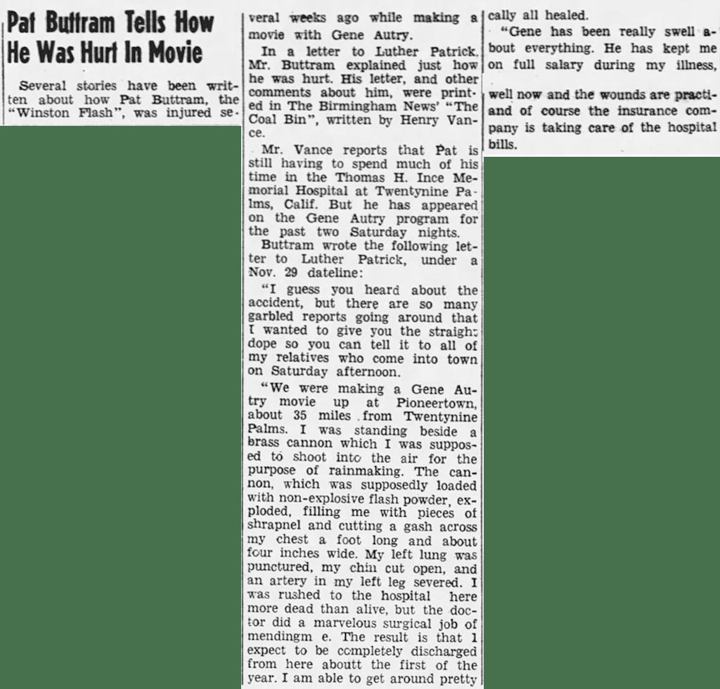Dec. 15, 1950 - The Haleyville Advertiser clipping