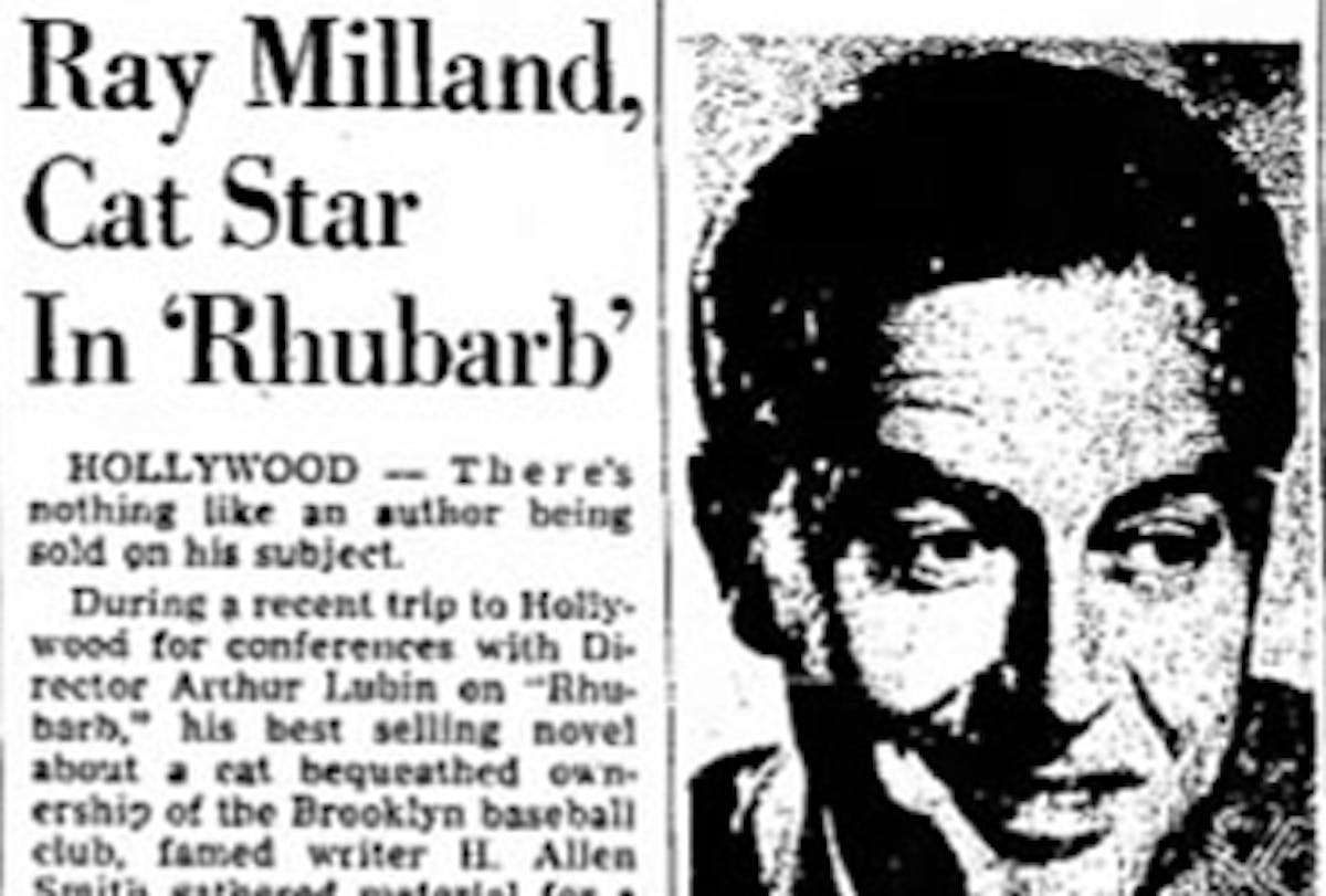 Ray Milland featured image