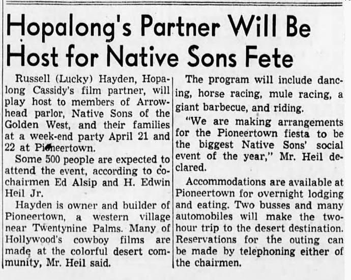 1951 Mar 25 - The San Bernardino County Sun