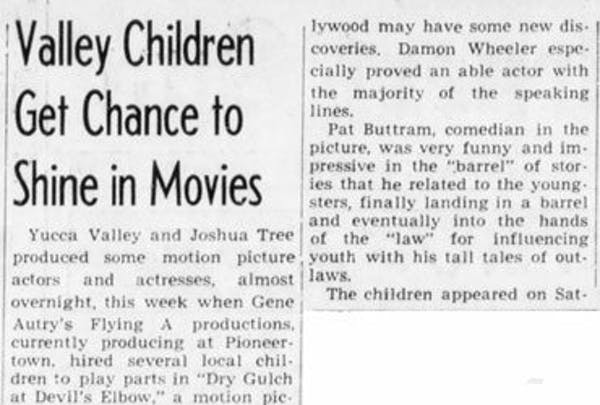 June 19, 1952 article clipping