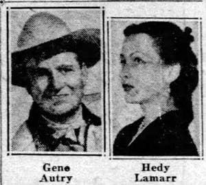 Gene Aurty Hedy Lamaar