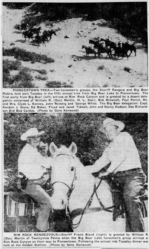 Sept. 15, 1955 - The San Bernardino County Sun article clipping