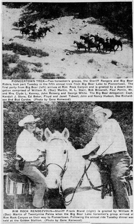 Sept. 15, 1955 - The San Bernardino County Sun article clipping