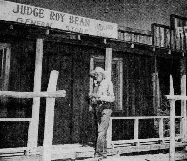 Trigger Bill Bridge of Pioneertown image