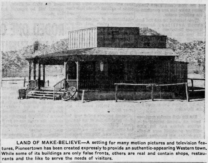 Sept. 30, 1956 - The San Bernardino County Sun article clipping