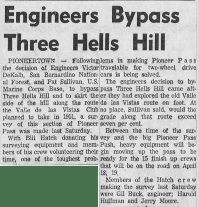 Apr. 2, 1959 - The San Bernardino County Sun article clipping