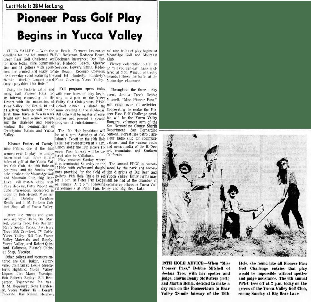 ct. 9, 1964 - The San Bernardino County Sun article clipping