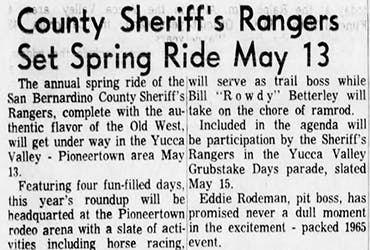 County Sheriff Ranger featured image