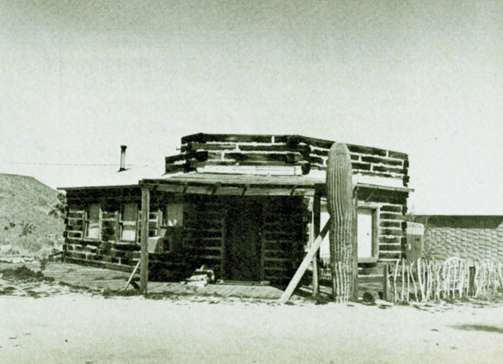Schnald Mining Co building in 1977
