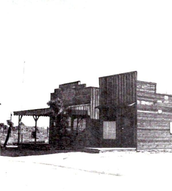 Pioneertown Post Office in 1977