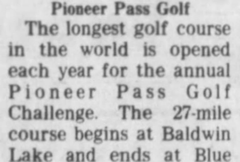 Sept. 26, 1980 - Pioneer Pass Golf featured image