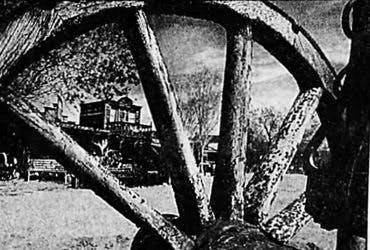 Wagon wheel mane street image