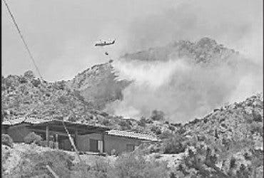firefighting helicopter image
