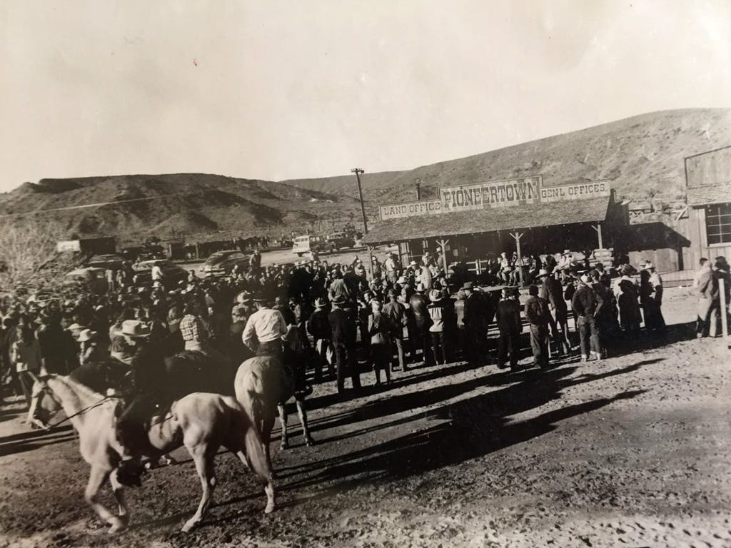 Pioneertown Land Office photo
