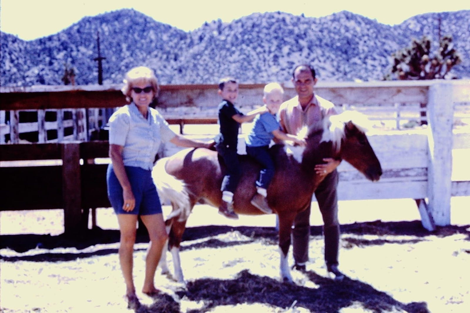 Pony ride at the OK Corral in 1968