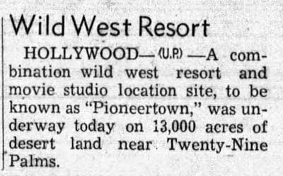 March 22, 1946 - Santa Maria Times article clipping