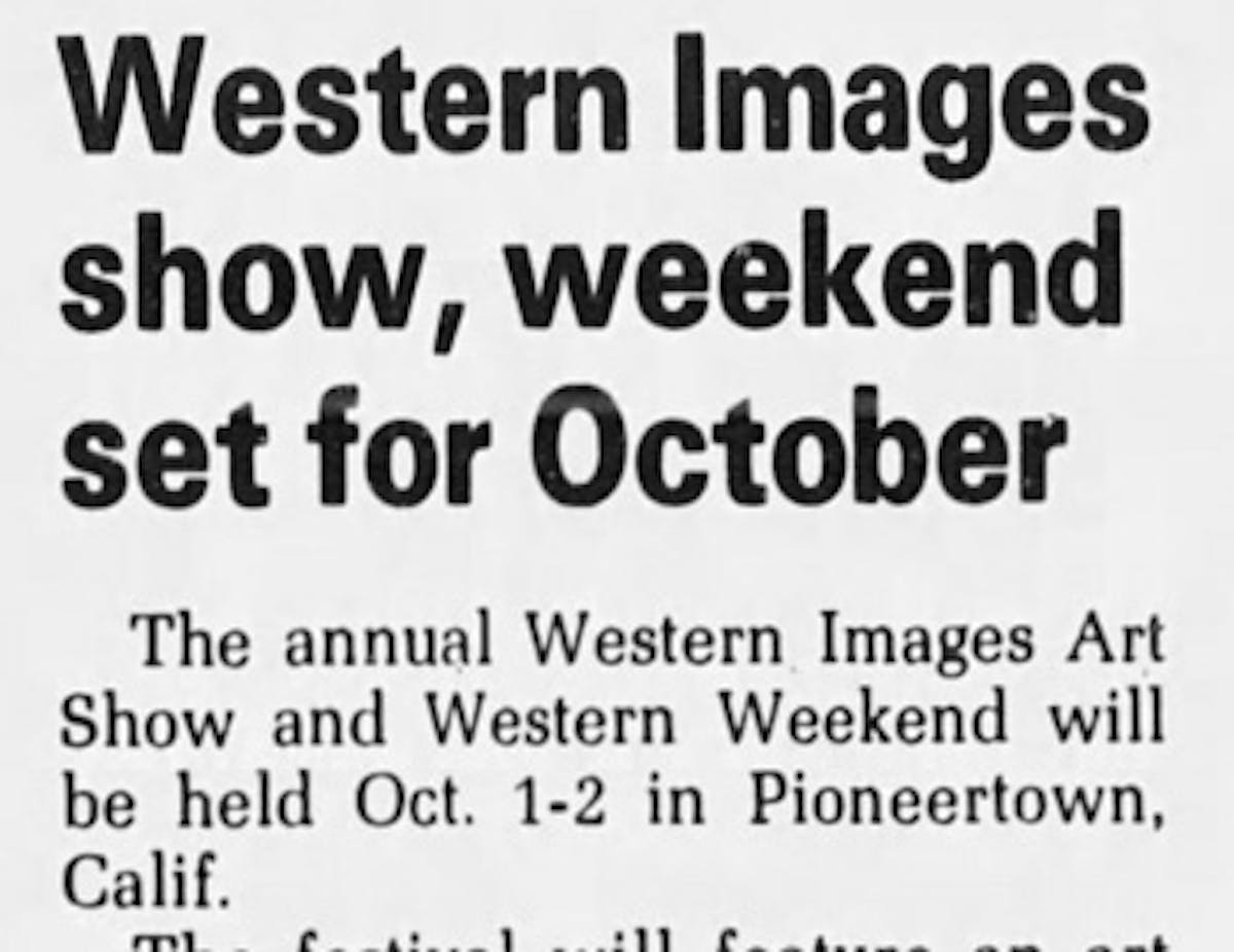 Western image weekend featured image