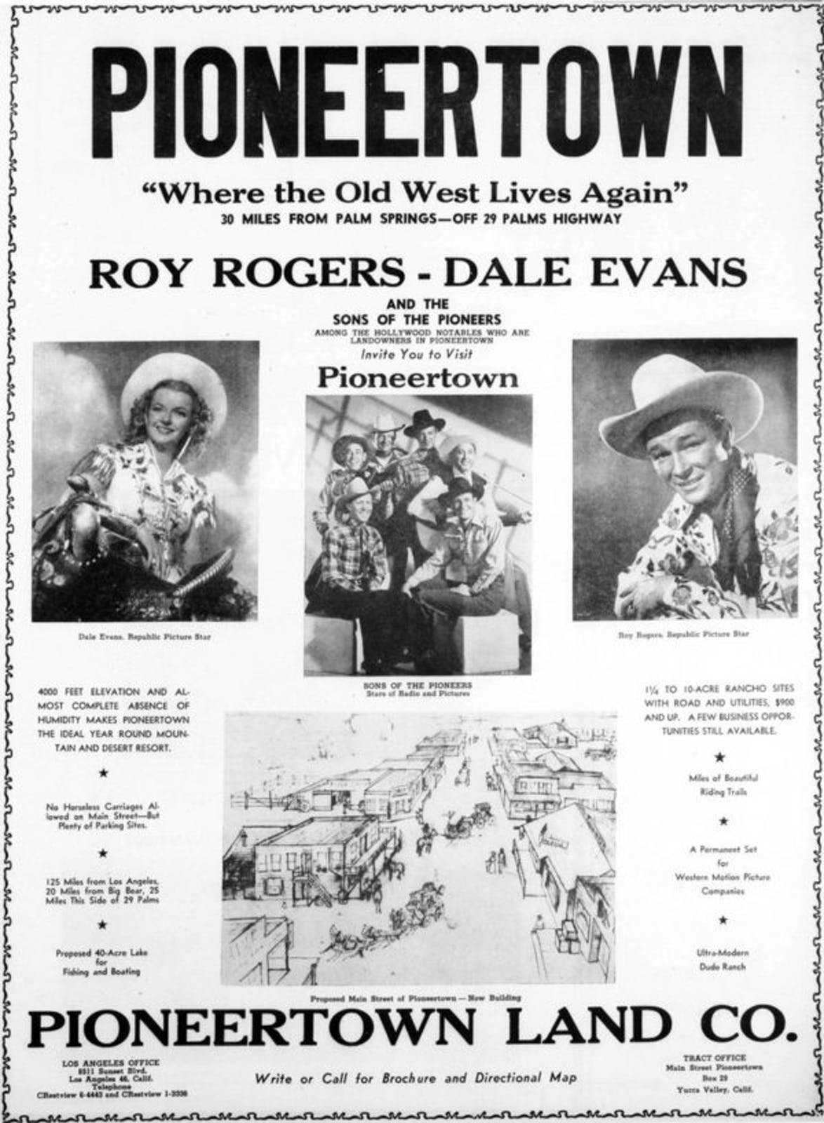 March 25, 1947 full page ad