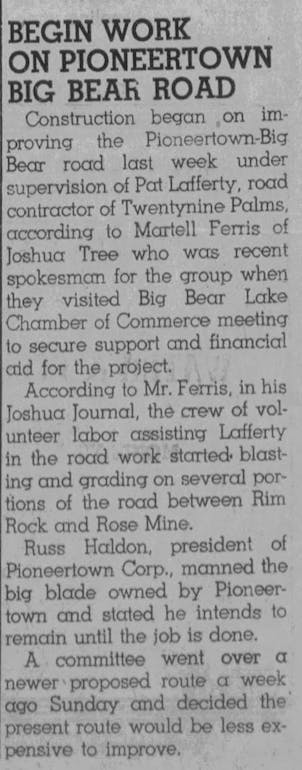 June 8, 1951 - The Grizzly clipping