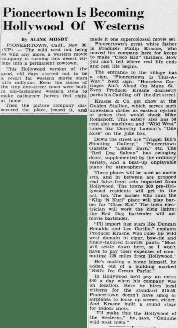Dec. 1, 1948 - Asheville Citizen Times article clipping