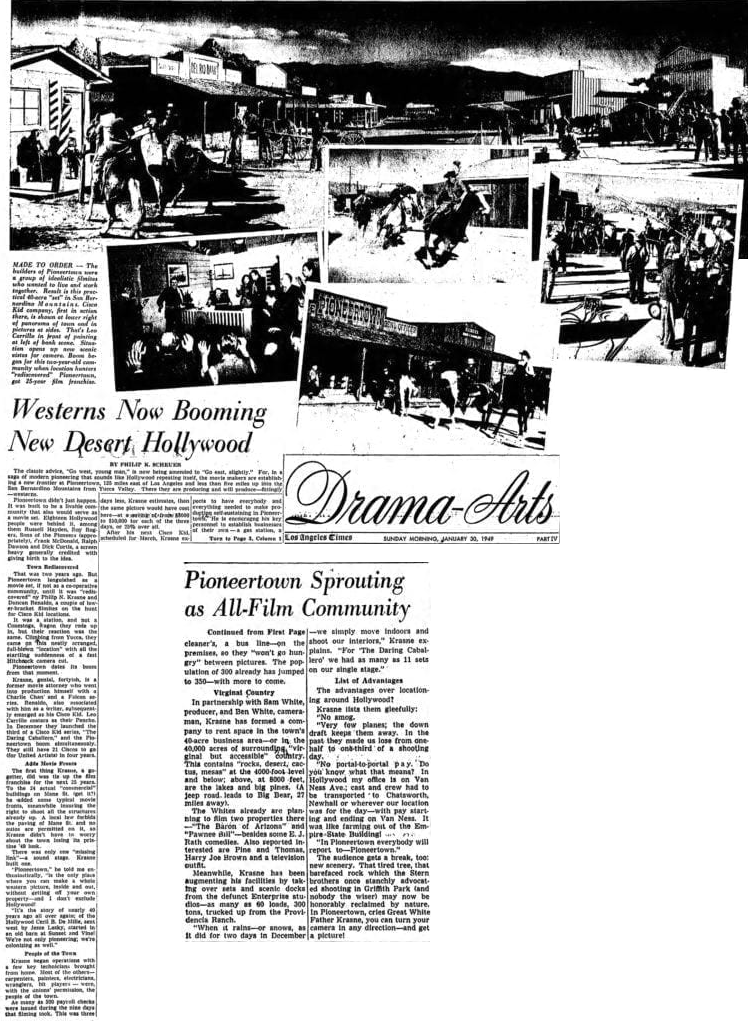 Jan. 30, 1949 article clipping