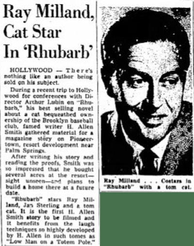 Sept. 22, 1951 - The Salt Lake Tribune article clipping