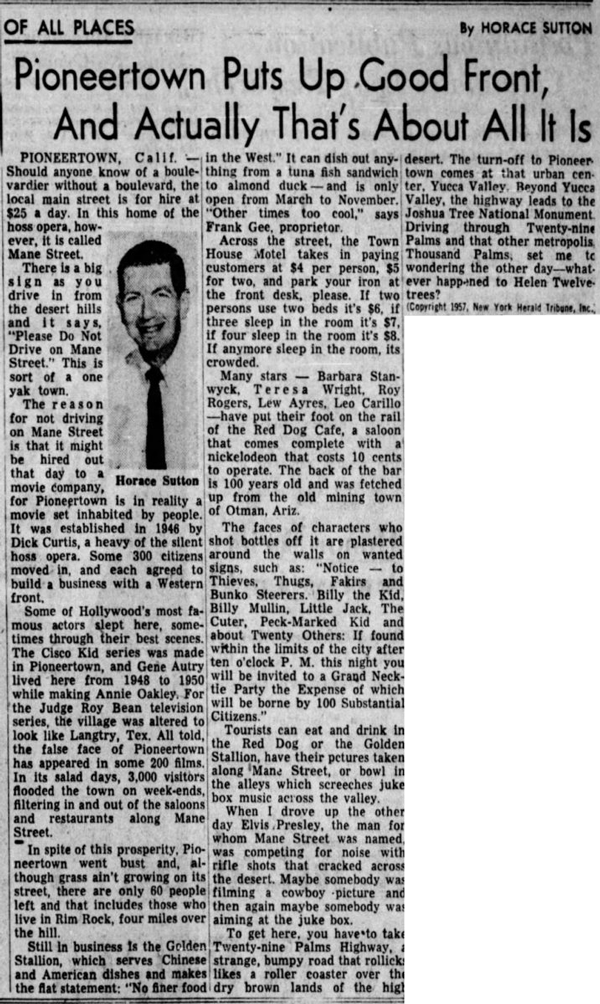 Mar. 20, 1957 - The News Journal article clipping
