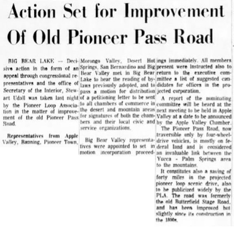 May 15, 1966 - The San Bernardino County Sun article clipping