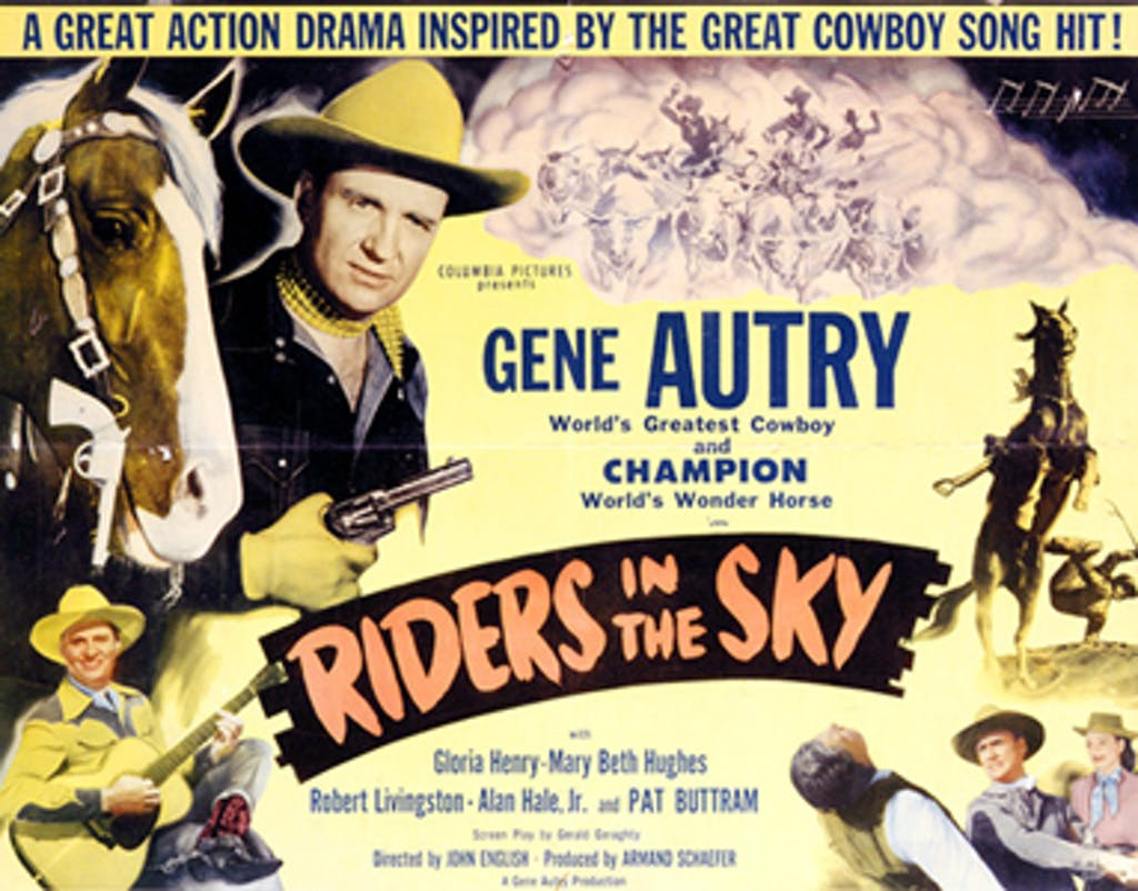 Ghost Riders in the Sky lobby card