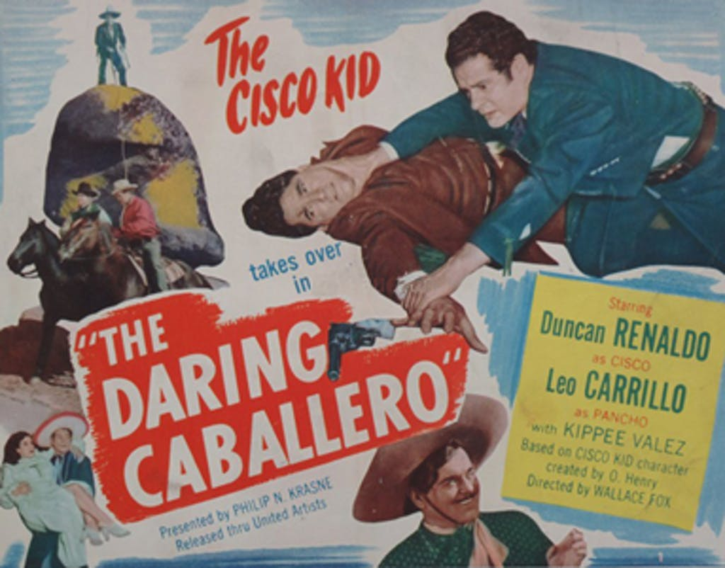 The Daring Caballero lobby card