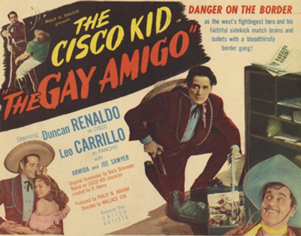 The Gay Amigo lobby card