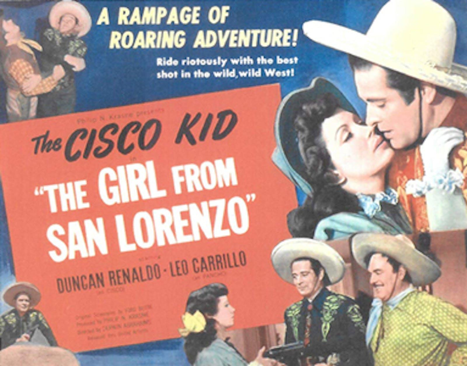 the Girl from San Lorenzo lobby card