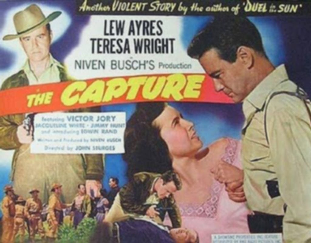 The Capture lobby card