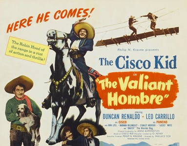 The Valiant Hombre lobby card