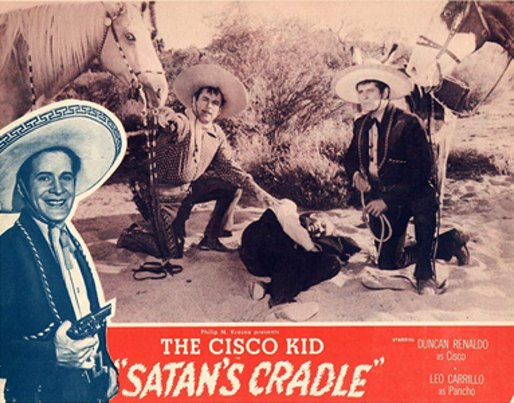 Satan's Cradle lobby card