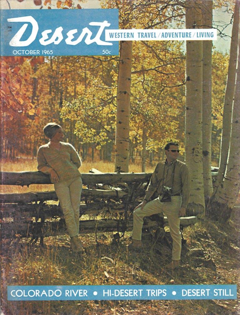 Desert Magazine cover Oct.