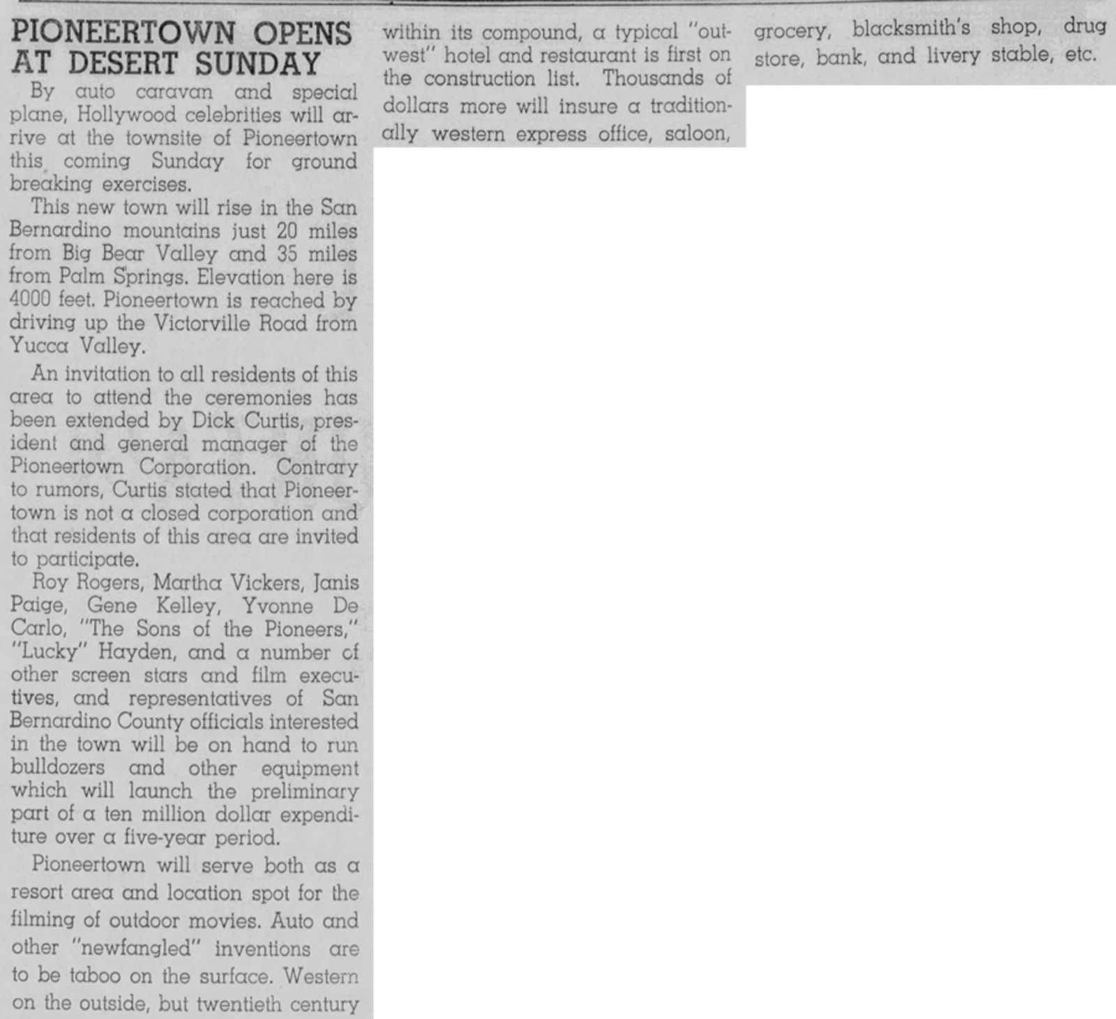 Aug. 30, 1946 - The Grizzly clipping