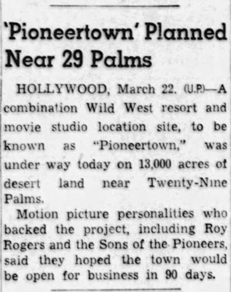 March 22, 1946 - Pasadena Star News clipping