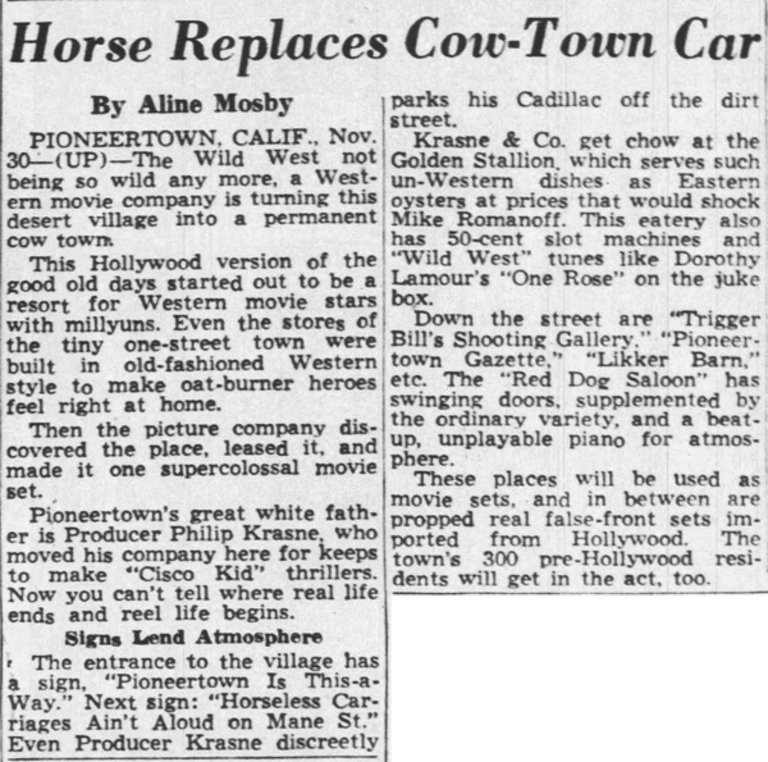 Dec. 1, 1948 - Richmond Times Dispatch clipping