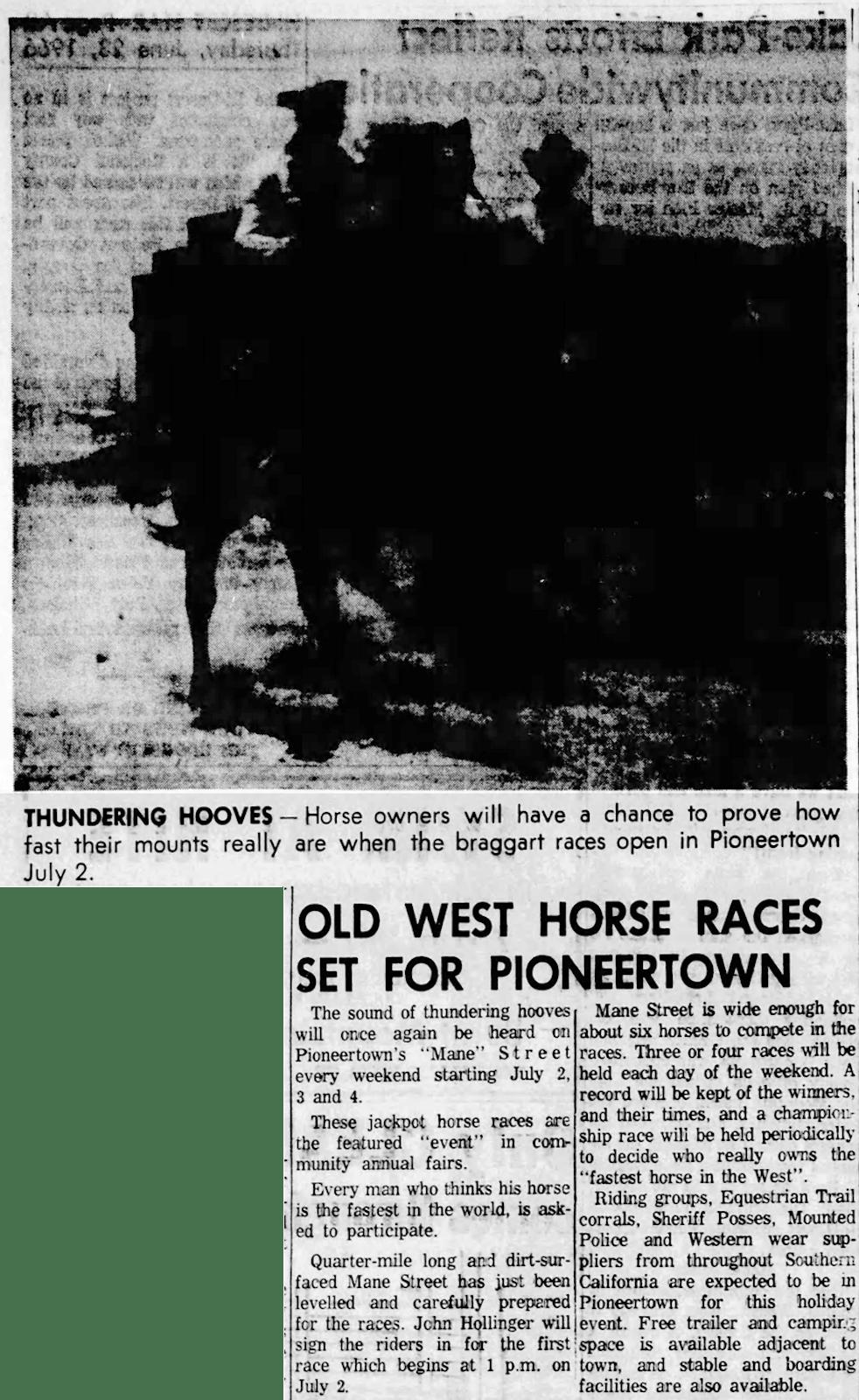 June 23, 1966 - Hi Desert Star clipping