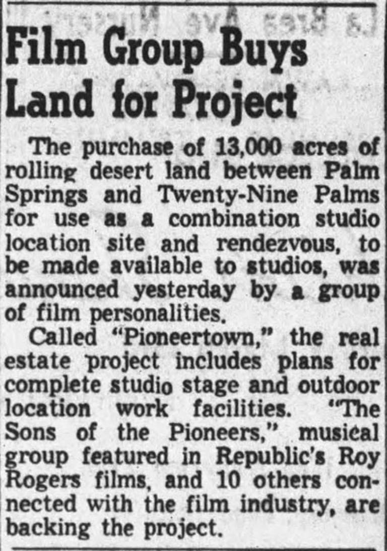 March 22, 1946 - Hollywood Citizen News clipping