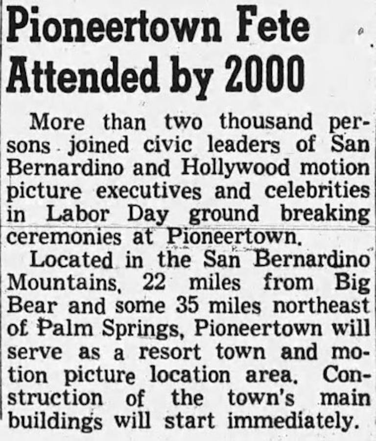 Sept. 3, 1946 - Hollywood Citizen News clipping