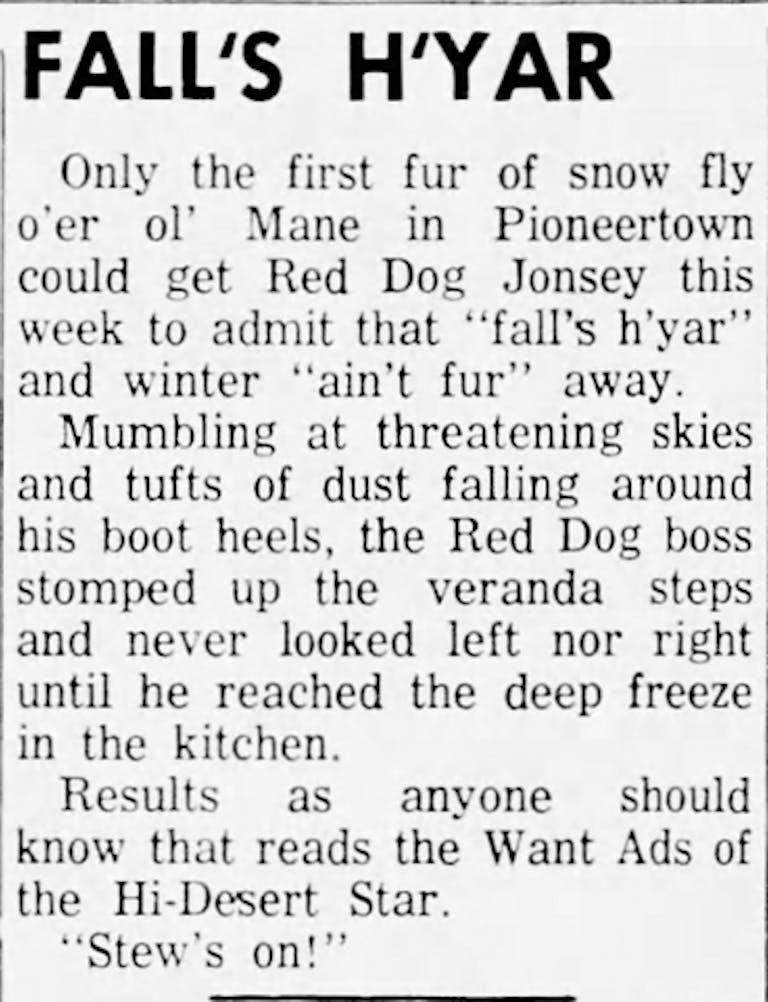 Nov. 20, 1961 - Hi-Desert Star